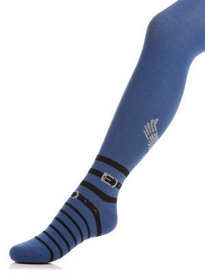 Колготки синие | 3750138