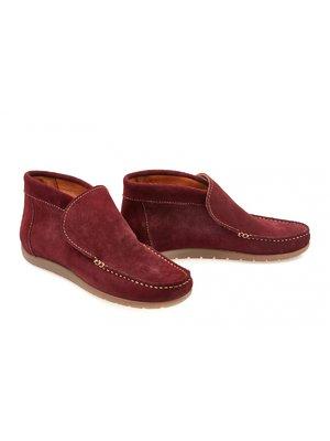 Ботинки бордовые | 3795719