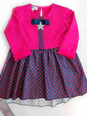 Сукня рожева у горох | 3800283