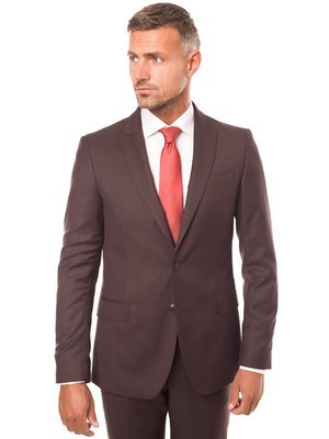 Пиджак коричневый | 3800912