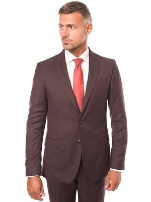 Піджак коричневий | 3800913