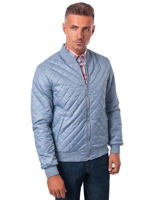 Куртка серо-голубая | 3800743