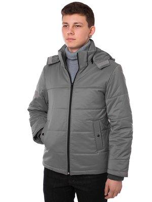 Куртка сіра | 3801646