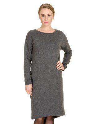 Сукня антрацитового кольору | 3801716