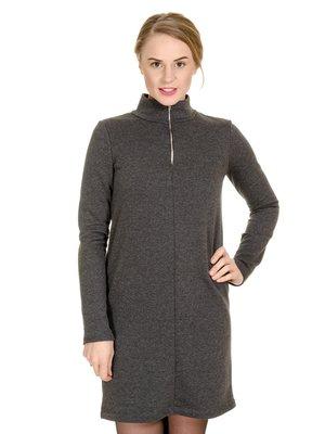 Сукня антрацитового кольору | 3801718