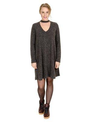 Сукня антрацитового кольору | 3801721