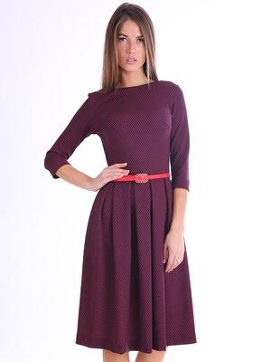 Платье бордовое | 3801800