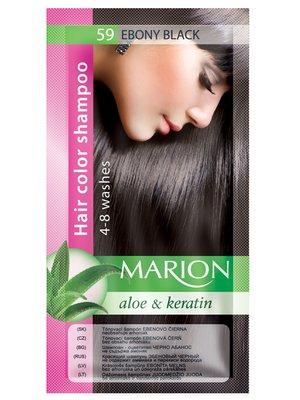 Відтіночний шампунь Marion Color №59 - чорне дерево (40 мл)   3809499