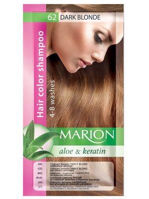 Оттеночный шампунь Marion Color №62 - темный блонд (40 мл)   3809501