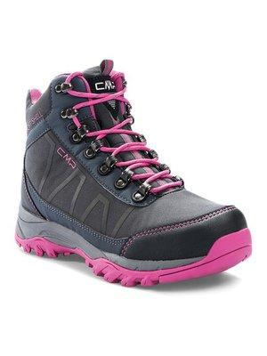 Ботинки серо-розовые | 3808276