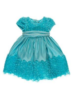 Платье голубое бальное | 3799531