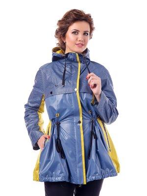 Куртка двоколірна в клітинку | 3810585