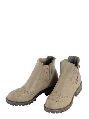 Ботинки бежевые   3810792