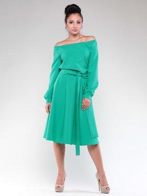 Платье зеленое | 3809758