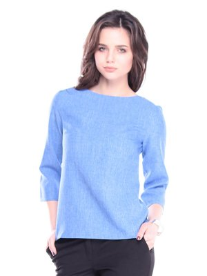 Блуза цвета электрик | 3809764