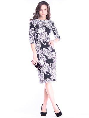 Платье в принт | 3809820
