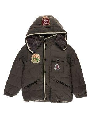 Куртка сіра пухова   1507562