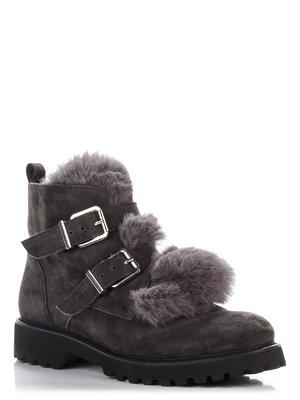 Ботинки серые | 3795924
