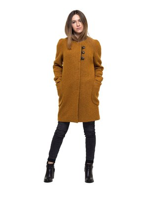 Пальто гірчичного кольору - Victoria Bloom - 3812900