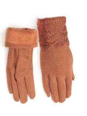 Перчатки коричневые   3813249
