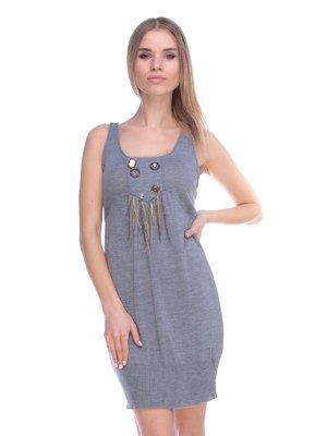 Платье серое | 3800447