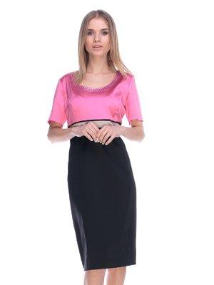 Платье двухцветное | 3800429