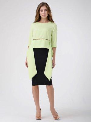 Блуза лаймового цвета | 3814010