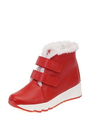 Ботинки красные | 3781491