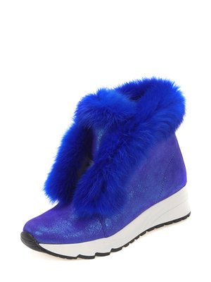 Ботинки синие   3781496