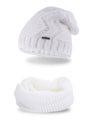 Комплект: шапка и снуд | 3816695