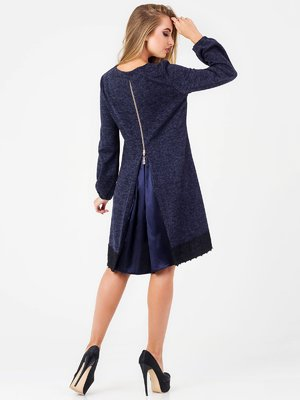 Платье темно-синее | 3793430