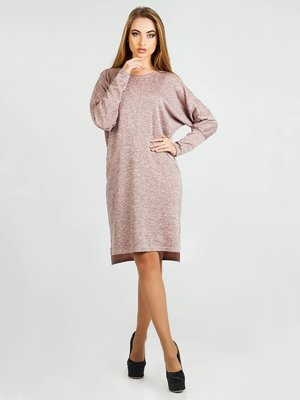 Платье цвета пудры | 3817925