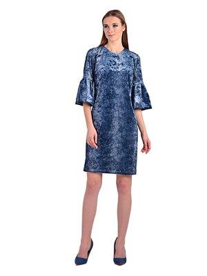 Платье синее | 3822966