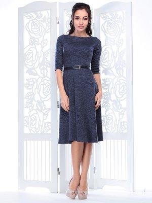 Платье темно-синее | 3823559