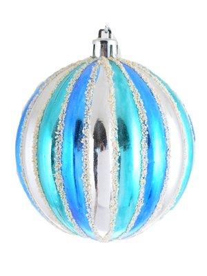 Куля ребриста різнобарвна (8 см) | 3826464