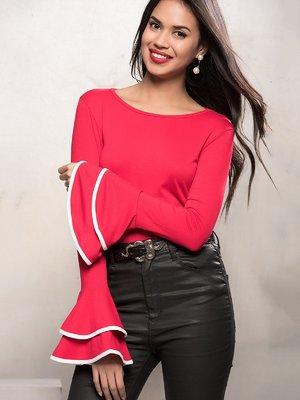 Блуза червона | 3828507