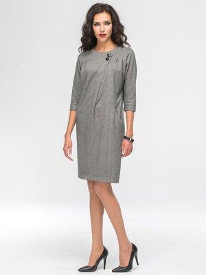 Платье серое | 3658365
