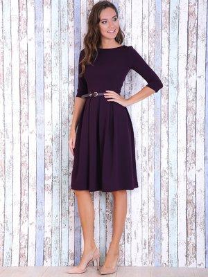 Платье баклажанного цвета | 3744139