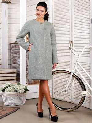 Пальто бледно-зеленое | 3830957