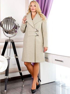 Пальто оливкового цвета | 3830991