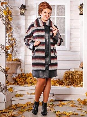Пальто в полоску | 3830996