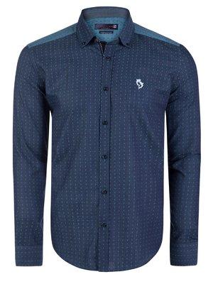 Рубашка синяя | 3703113