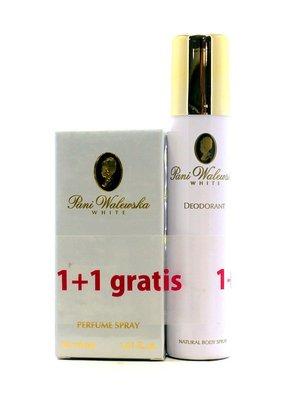 Набор Pani Walewska White: духи (30 мл) и дезодорант (90 мл) | 3833095