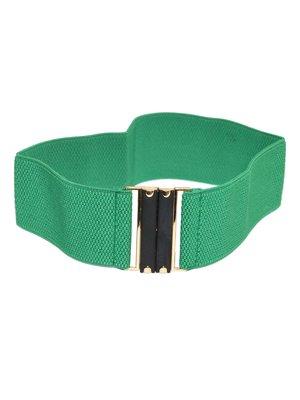 Пояс-резинка зелений | 3833072