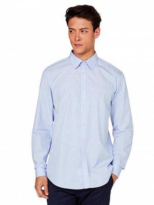 Рубашка голубая | 3520348