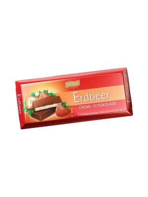 Шоколад темный с кремово-клубничной начинкой (100 г) | 3834464