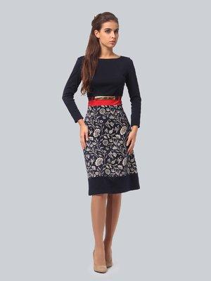 Платье в цветочный принт   3840432