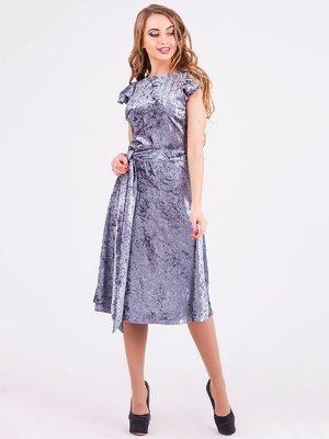 Платье серое | 3840446