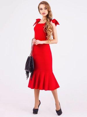 Платье красное | 3840454