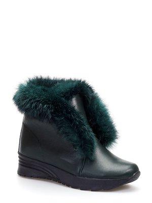 Ботинки зеленые | 3814126